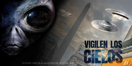 Vigilen los Cielos 4.0 entradas