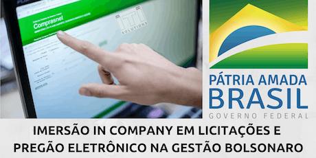 TREINAMENTO EM LICITAÇÕES In Company - ÁREA COMERCIAL/BACKOFFICE - APARECIDA DE GOIÁS ingressos