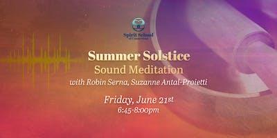 Summer Solstice Sound Meditation