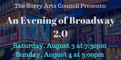 An Evening of Broadway 2.0 Saturday