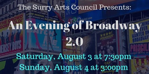An Evening of Broadway 2.0 Sunday