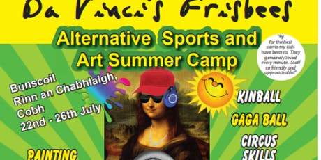 Da Vinci's Frisbees: Alternative Sports and Art Summer Camps 2019 tickets