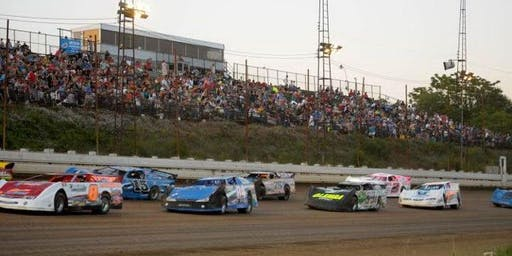 Action Event featuring a RUSH Late Model Dirt Series Sizzler