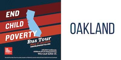 End Child Poverty Bus Tour: Oakland