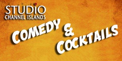 Camarillo Arts Comedy & Cocktails -- Fri, August 30