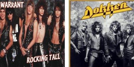 Dokken, Warrant w/Special Guest Mick Blankenship tickets