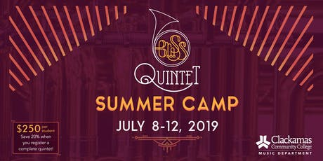 Brass Quintet Summer Camp tickets