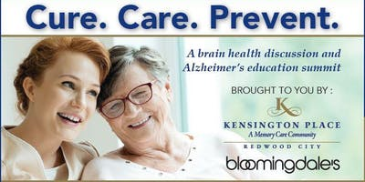 Cure.Care.Prevent                    A Brain Health Discussion