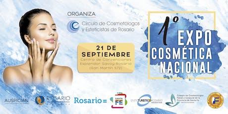 Copia de 1er. Expo Cosmètica Nacional Rosario 2019 entradas