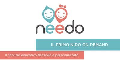 PRESENTAZIONE DI NEEDO, IL PRIMO NIDO ON DEMAND