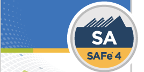 Leading SAFe® - Applying a Lean-Agile mindset with SAFe® 4 Agilist Certification tickets
