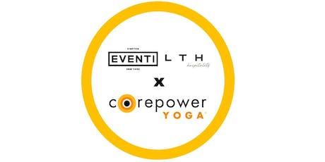 Kimpton Hotel Eventi & CorePower Yoga  tickets