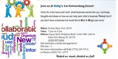 Unity's 1st Networking Event