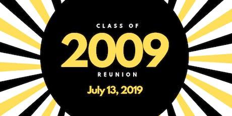 Class of 2009- 10 Year Reunion tickets