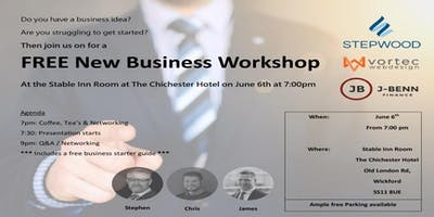 ***FREE     New Business Workshop     FREE***