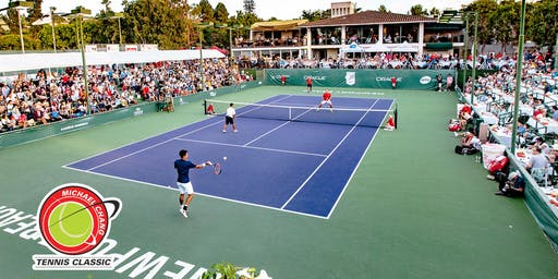 2019 World Class Doubles Exhibition featuring Michael Chang, Kei Nishikori, Steve Johnson, James Blake & Mardy Fish!