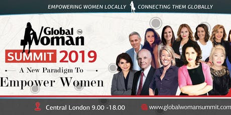 GLOBAL WOMAN SUMMIT 2019 LONDON tickets