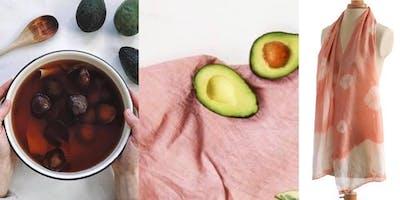 Natural Dyeing with Avocado - Silk Wrap or Kimono
