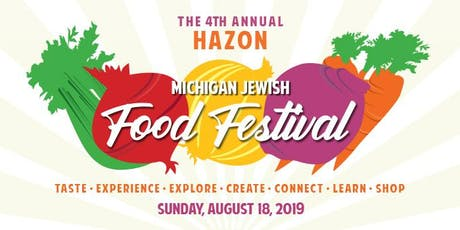 Hazon Michigan Jewish Food Festival tickets