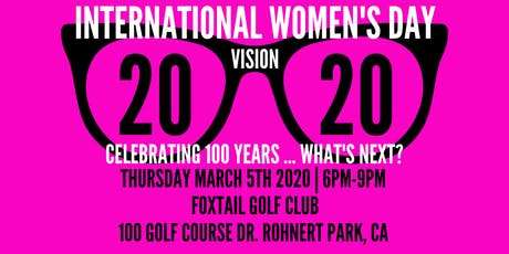 International Women's Day 2020 tickets