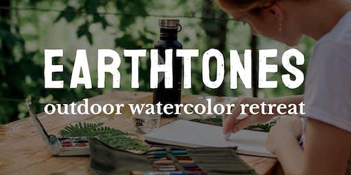 Earthtones Outdoor Watercolor Retreat
