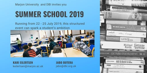 Summer School 2019 At Marjon University