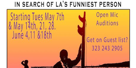 "Open Mike ""In search of LA's Funniest Person"" at the LA Stand Up Comedy Festival  tickets"