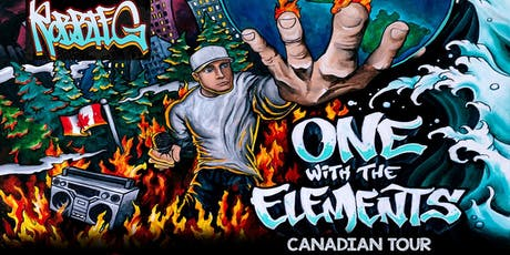 One With The Elements Tour - Robbie G - Lucky Bar, tickets