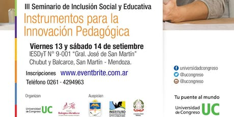 III Seminario de Inclusión Social y Educativa  tickets