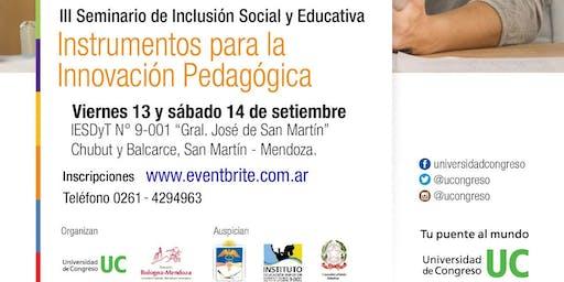 III Seminario de Inclusión Social y Educativa