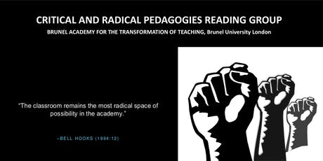Critical and Radical Pedagogies reading group  tickets