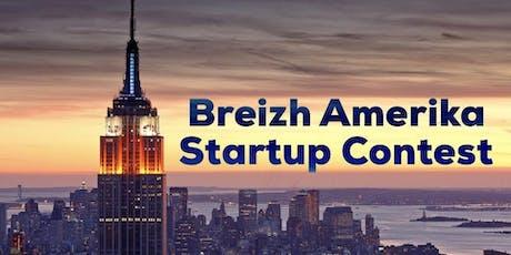 Soirée d'annonce des vainqueurs du Breizh Amerika Startup Contest 2019 à Brest billets