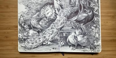 Drawing Class with artist Guno Park