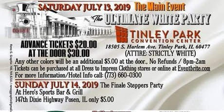 The Ultimate White Party Main Event tickets
