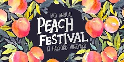 Harford Vineyard's 3rd Annual Peach Festival