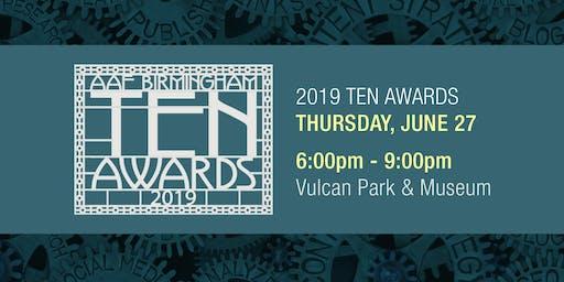 2019 AAF Birmingham Ten Awards