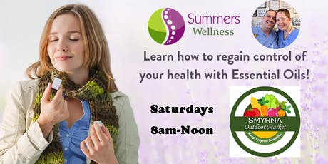 Aromatherapy Education & Products at Smyrna Outdoor Market tickets