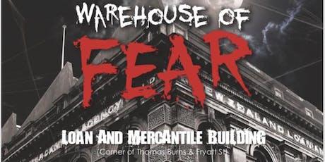Warehouse of Fear June 21 tickets