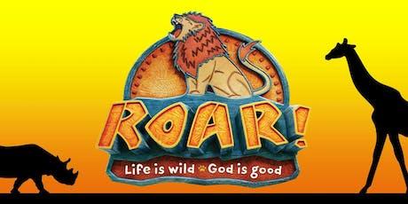 Roar Vacation Bible School tickets