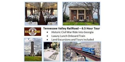 Train Ride Luncheon & Gordon-Lee Mansion Tour