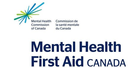 Mental Health First Aid for Adults who Interact with Youth (2 Day Course ~ September 2019) tickets