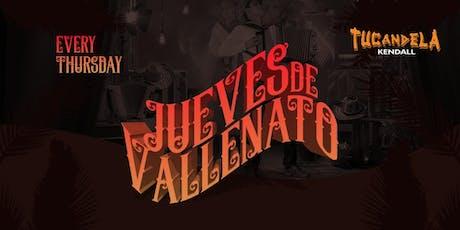 Jueves de Vallenato tickets