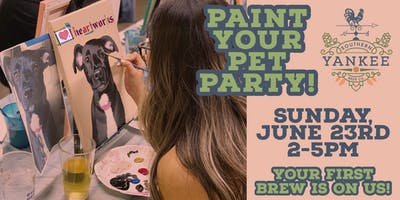 Paint your Pet Party @ Southern Yankee Beer Co.!
