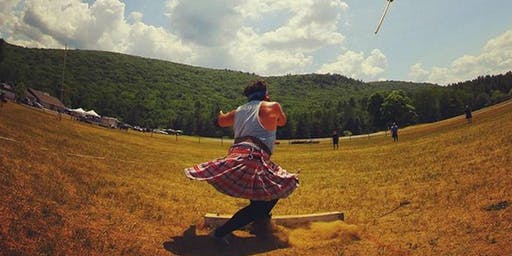 95th Connecticut Round Hill Highland Games Heavyweight Competition