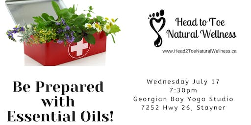 Be Prepared with Essential Oils