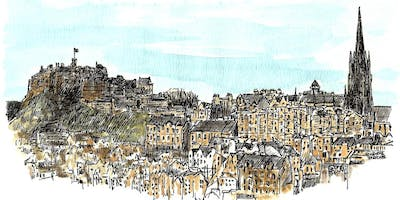 Capturing Classical Edinburgh at the City Art Centre - 2.5 hour sketch tour