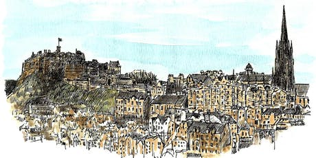 Capturing Classical Edinburgh at the City Art Centre - 2.5 hour sketch tour tickets