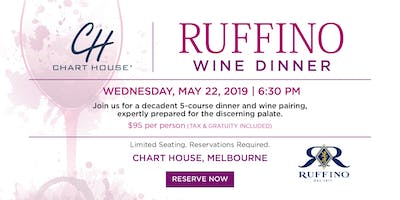 Chart House Ruffino Wine Dinner- Melbourne, FL