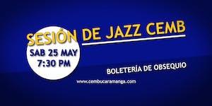 Sesión de jazz CEMB No. 58