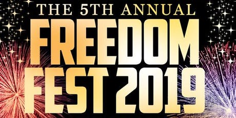 The 5th Annual Freedom Fest at Pier 15 tickets